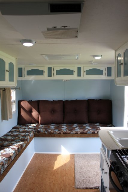 Travel Trailer Interior Renovations