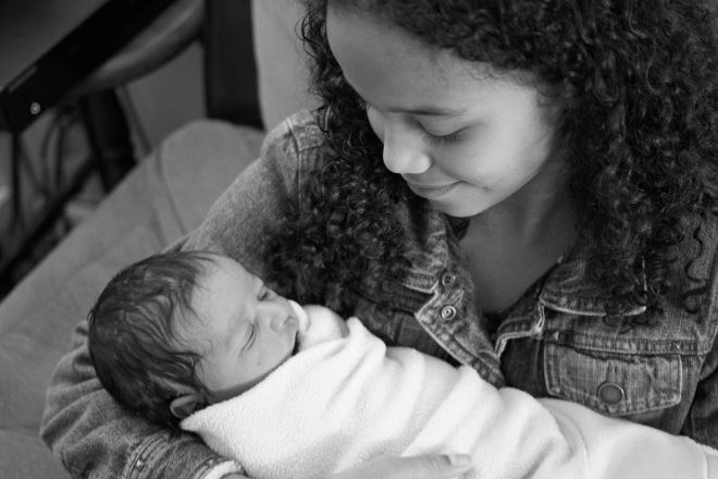 Charlotte Hadassah Birth 7